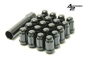 20 Pc BLACK HONDA ACCORD SPLINE TUNER LUG NUTS 12x1.50 # AP-5655BK