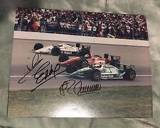 Guerrero Mario Andretti Eddie Cheever Signed Indy 500 Front Row 8 X10 Photo 1992