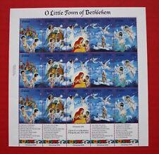 CLEARANCE: Palau (345) 1994 Christmas (O Little Town of Bethlehem) sheet