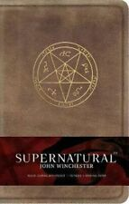 NEW Supernatural - John Winchester Hardcover Ruled Journal Free Shipping