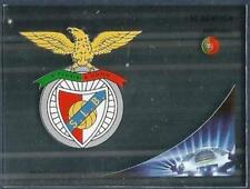 PANINI UEFA CHAMPIONS LEAGUE 2012-13- #462-BENFICA TEAM BADGE-SILVER FOIL