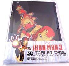 MARVEL IRON MAN 3D TABLET CASE for iPad 2 & 3rd 4th GEN Lenticular AVENGERS