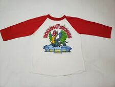 Vintage The Rolling Stones Prince 1981 Tour T-Shirt Los Angeles Dragon