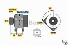 Bosch Reman Alternador 0986080400