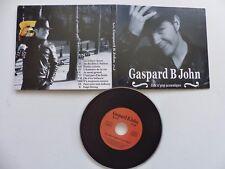 GASPARD B JOHN Folk n pop acoustique CD ALBUM