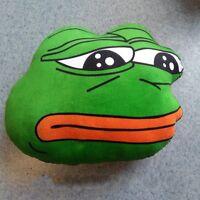 2020 Sad Frog Pepe Cushion Double Side Hold Pillow Plush Doll Birthday Xmas Gift