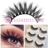 🎀 GLAMOUR Mink Lashes 3D Eyelashes 🎀Siberian Fur Makeup Extension | US SELLER