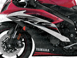 YAMAHA R6 GRAPHIC KIT DECALS STICKER MODEL 2014
