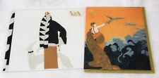 Lot of 2 Cards with Fashion Art designs, Unused, ex Estate