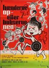 La GUERRE DES BOUTONS Danish A1 movie poster Yves ROBERT 1962