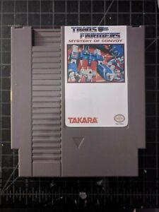 The Transformers: Mystery of Convoy Comvoy Nintendo NES English Translation