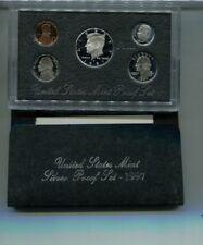 1997 S UNITED STATES SILVER 90% PROOF SET ORIGINAL BOX 8080K
