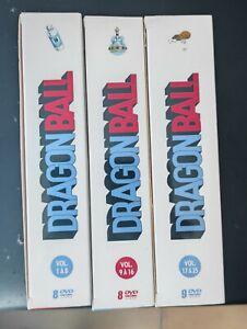Intégrale Dragon Ball 3 coffret  Collector AB Pack 25 DVD 153 épisodes  + bonus