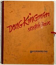 Listed Artist Dong Moy Chu Kingman (1911-2000) Personal Sketchbook w/ Figures