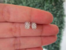 ".30 CTW Diamond Earrings 18k White Gold E364 / E6 sep ""SP"""