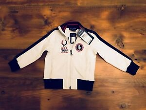 Collectors Youth Olympic Beijing Jacket By Ralph Lauren 2008 2T