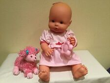 FAMOSA BABY GIRL, DRINK AND WET, ALL VINYL, MORE, EUC, T-2507-07