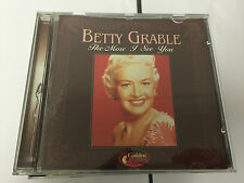 Betty Grable : The More I See You CD (2000) 8712273038346