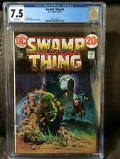 Swamp Thing #4  CGC 7.5   White pages