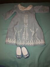 American Girl Caroline Birthday Dress EUC Complete RETIRED