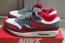 NEW Nike Air Max 1 White University Red 11US 10UK 43 Bright Infrared AH8145 100