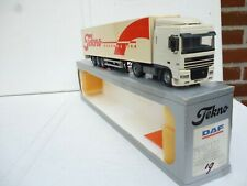 1:50 TEKNO  DAF XF  WITH TRAILER ECONOMY LINE  VINTAGE NM BOXED