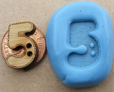 Reusable 2cm Button Silicone Mould, Mold, Sugarcraft, Jewellery, Food Safe No 5