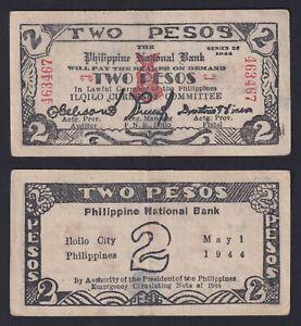 Filippine / Philippine - 2 pesos 1944 BB/VF  C-08