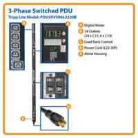 TRIPP LITE PDU 3XVSR6L2230B PDU 3-Phase Switched 240V 17.3kW C13 C19 L22-30P