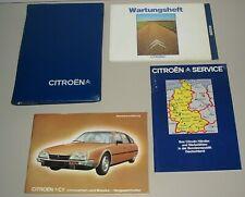 Betriebsanleitung + Bordmappe Citroen CX Limousine + Breaks + Wartungsheft 1982!