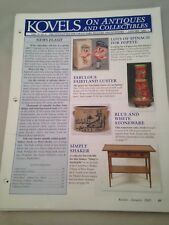 Kovels On Antiques and Collectibles Newsletters 2005 & 2007 Some Missing