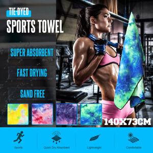 Gym Yoga Towel Sport Fitness Travel Exercise Mat Microfiber Cover Blanket Pilate