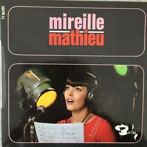 MIREILLE MATHIEU: Adieu a la nuit (F EP Barclay 71 163 M / Mono / NM)