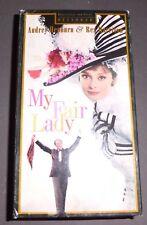 My Fair Lady (VHS, 1994, 2-Tape Set, 30th Anniversary Edition)-Audrey Hepburn
