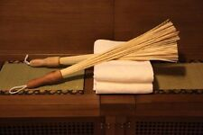 Bamboo massage broom 2 pieces. Natural 100%
