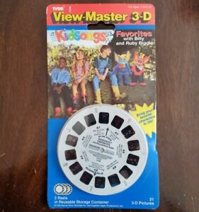 Sealed View-master Kidsongs Favorites with Billy and Ruby Biggle 1994 Tyco 4158