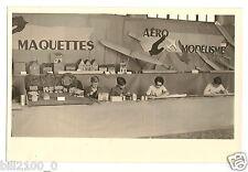 """photo ancienne """" mains habiles """" maquette . aéro modélisme . avion . planeur"""