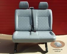 VW T5 Seat rear bench double Transporter Place Sitzbank
