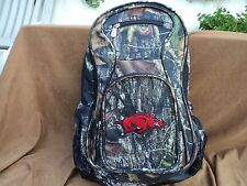 Denco L701 Arkansas Razorbacks Camouflage Backpack