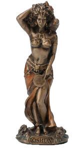 3.5 Inch Orisha Oshun Statue Santeria Lucumi African Goddess Love Beauty Ochun