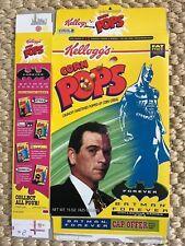 1995 Kellogg's Corn Pops Batman Forever Two-Face Tommy Lee Jones Flat Box 15 oz