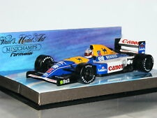 Minichamps Williams Renault FW14B Nigel Mansell Weltmeister 1992 1/43