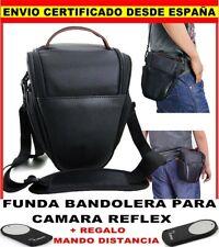 BANDOLERA FUNDA PARA CAMARA REFLEX CANON EOS 550D 500D 40D 600D 700D + MANDO RC