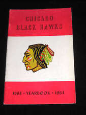 1963-1964 CHICAGO BLACK HAWKS Media Guide / Yearbook