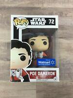 Funko Pop Star Wars Poe Dameron #72 Walmart Exclusive I05