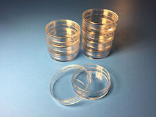 20 X Sterile Polystyrene Plastic Petri Dishes Plate With Lids 35mmx10mm