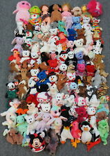 ~112 TY BEANIE BABIES, BOOS, BUDDIES & PLUFFIES COLLECTION LOT - WHOLESALE BULK