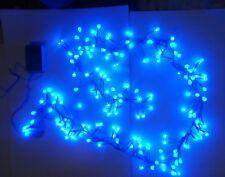 Luci di Natale Cluster Lights 192 LED blu a globo con giochi interno esterno