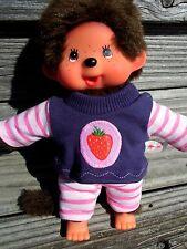 Kleidung  SHIRT + HOSE für  MONCHICHI Gr.20 MONCHHICHI  lila Erdbeer Erdbeere