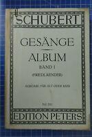 Schubert Gesänge Album Band 1 No20c Edition Peters H-456